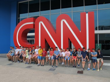 The Monaco Boys Choir at CNN in New York @ Les Petits Chanteurs de Monaco