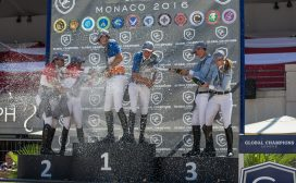 Global Champions League: Team Competition podium, Sunday, June 26 at LGCTM 2016 @RBpress