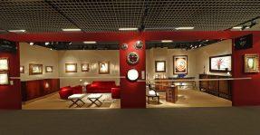 Galerie Marchilhac, Paris and Helene Bailly, Paris at EAF Monaco @EAF Monaco 2016