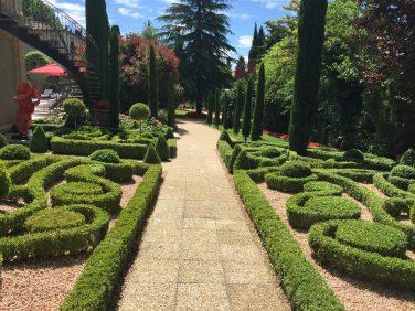 The manicured gardens at Villa Gallici@CelinaLafuenteDeLavotha