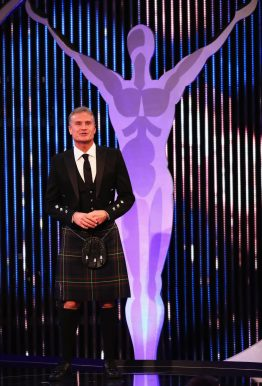 MONACO - FEBRUARY 14: Laureus Ambassador David Coulthard talks on stage during the 2017 Laureus World Sports Awards at the Salle des Etoiles,Sporting Monte Carlo on February 14, 2017 in Monaco, Monaco. (Photo by Matthew Lewis/Getty Images for Laureus) *** Local Caption *** David Coulthard