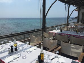 Upstairs Pizzeria with a superb seaview @CelinaLafuentedeLavotha