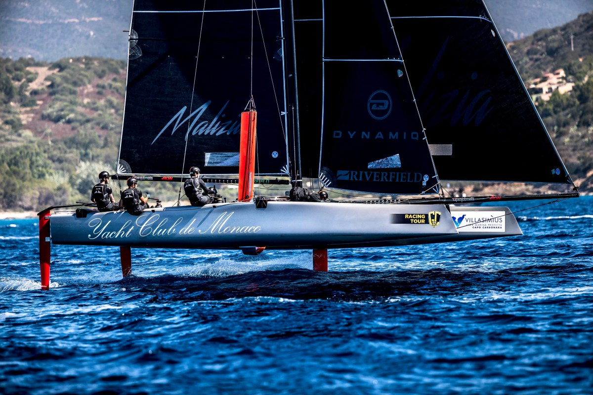 Malizia Lead By Pierre Casiraghi And His Crew Getting