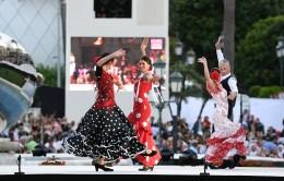 Flamenco dancers ©Charly Gallo - Manuel Vitali : Direction de la Communication