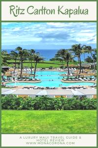 Ritz Carlton Kapalua Maui Review