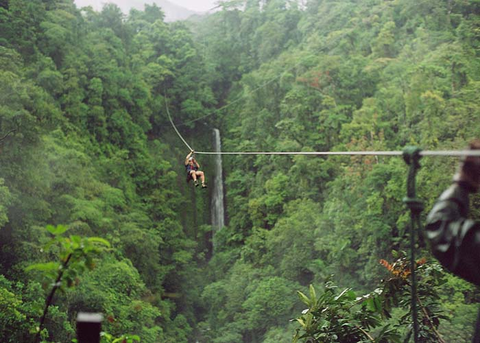 Best Zip line Costa Rica