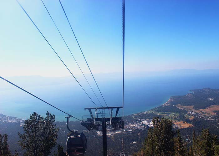 heavenly gondola ski resort