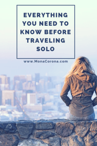 Are you a solo female traveler or are thinking about traveling alone for the first time? Read this Q&A that answers all the frequently asked questions about traveling alone as a woman | MonaCorona.com | #solofemaletravel #solofemaletraveler #solofemaletraveller #solotravel #travel #tips #traveltips #travelinspo #wanderlust #traveltipsforwomen #womentravel #femaletravel
