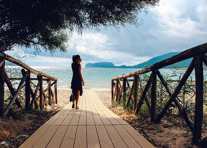 Spiaggia Mugoni beach Alghero