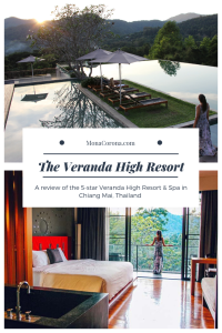 Wondering where to stay in Chiang Mai? Click here to read a full review of the Veranda High Resort in Chiang Mai, Thailand. Discover why the Veranda is the best hotel in Chiang Mai for 5-star luxury. Included in this article is also a unique day trip from Chiang Mai, to the province of Lampang, all with a local Thailand tour guide. | MonaCorona.com | #travel #hotels #thingstodo #wheretostay #thailand #chiangmai #southeastasia #hotel #luxury #resort #asia