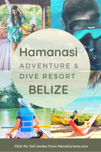 Where to stay in Belize? Click here to read a full review of the best of hotel in Belize for luxury, adventure, and sustainability. | Hamanasi Adventure & Dive Resort | where to stay in Hopkins, Belize | #belize #diving #centralamerica #hopkins #hotels #snorkeling #thingstodo #travel #vacation #honeymoon #beach #jungle #scubadiving #allinclusive #ruins #cavetubing #barrierreef #bluehole #dangriga #treehouse #ecoluxury #ecotourism #greenhotel #ambergriscaye #cayecaulker #sanpedro #placencia