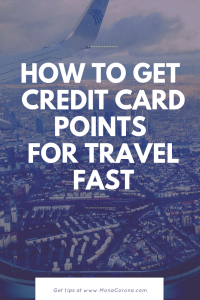 A guide to manufactured spending and how to get credit card points for travel fast. | credit card travel rewards | credit card points | credit cards for travel | travel hacks | travel hacking | points travel | #monacoronadotcom #monacorona #travel #tips #traveltips #creditcards #travelhacks #usa