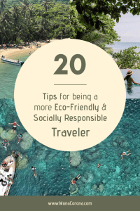 20 responsible travel