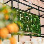 EOLA Monaco cafe logo