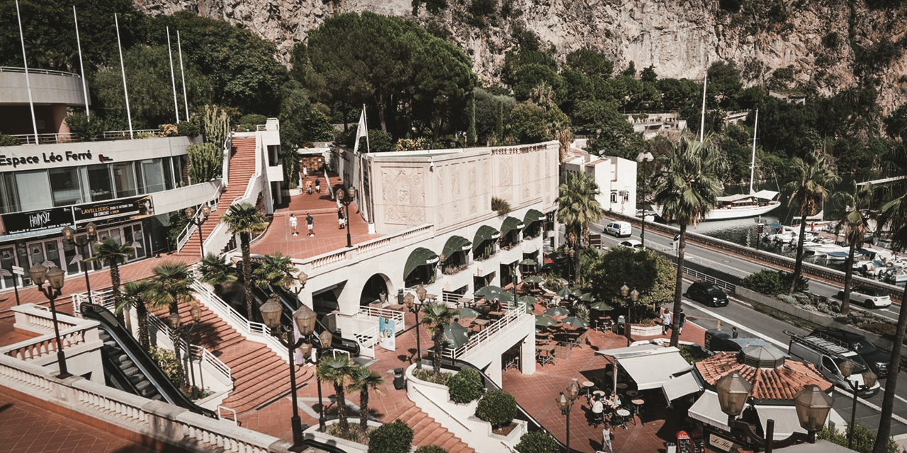 Fontvieille Shopping Centre in Monaco