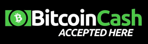 Bitcoin Cash Accepted Here Sticker