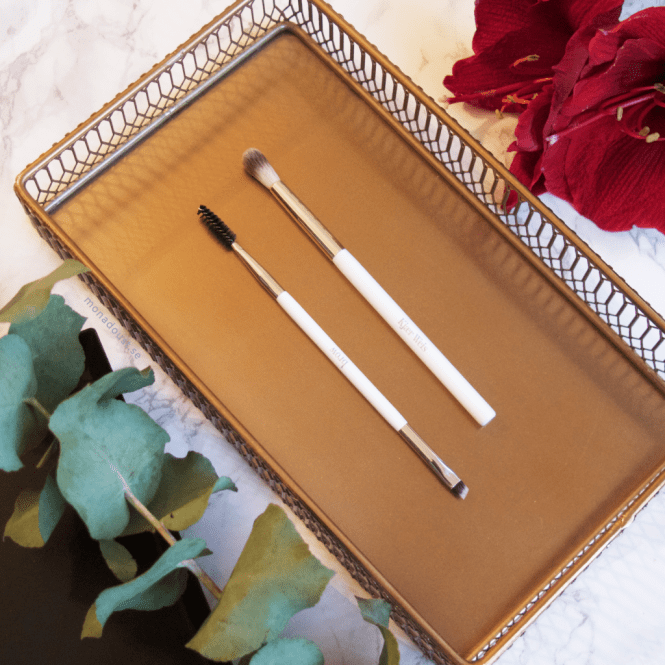 Kjaer Weis Crease Brush and Brow Brush