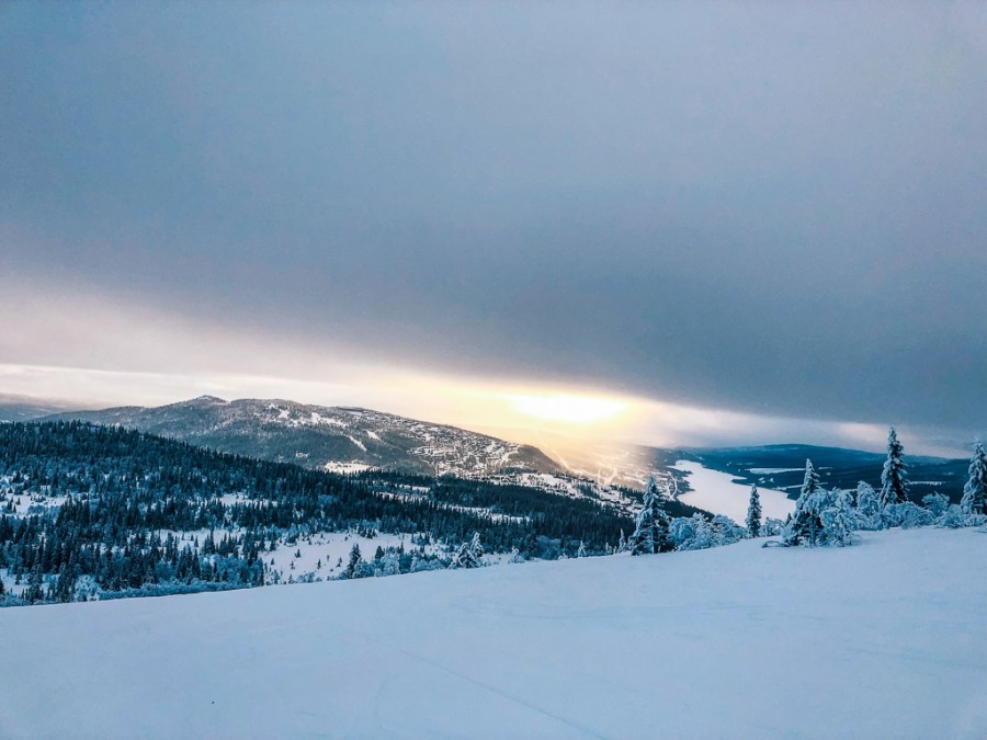 Utsikt över Björnen, Åre