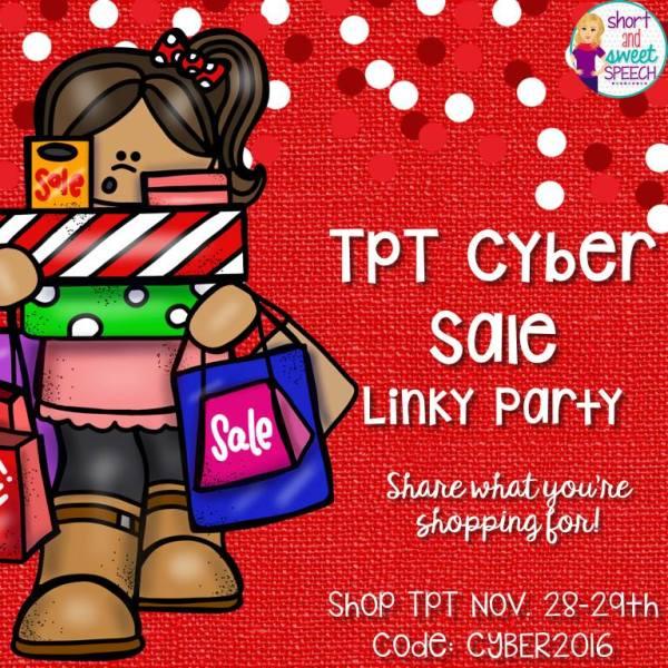 WHOO HOO! TpT Cyber Sale!