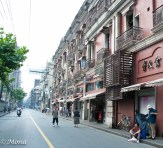 One of the side streets off Nanjing Lu