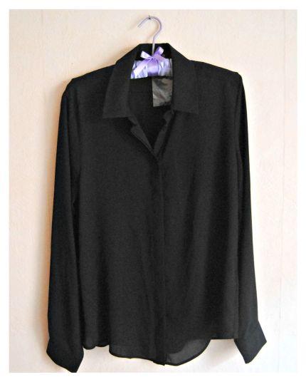 chemise noir primark