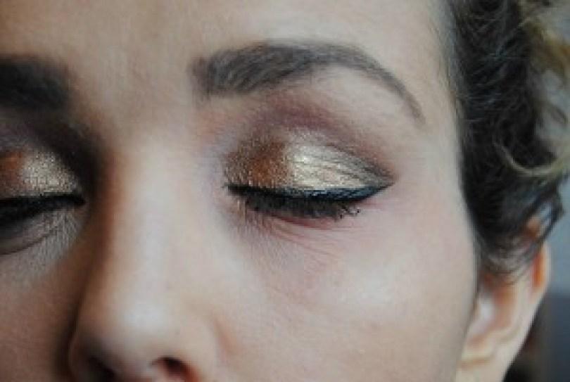 eye lin + mascara
