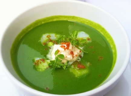 Daniel-Bouluds-Chilled-Pea-Soup