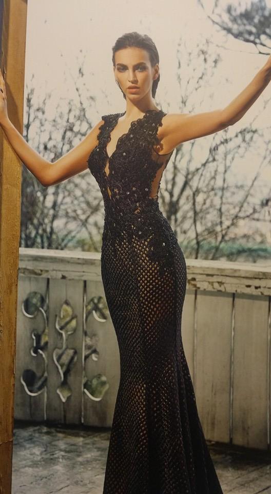 robe libanaise noire sirène
