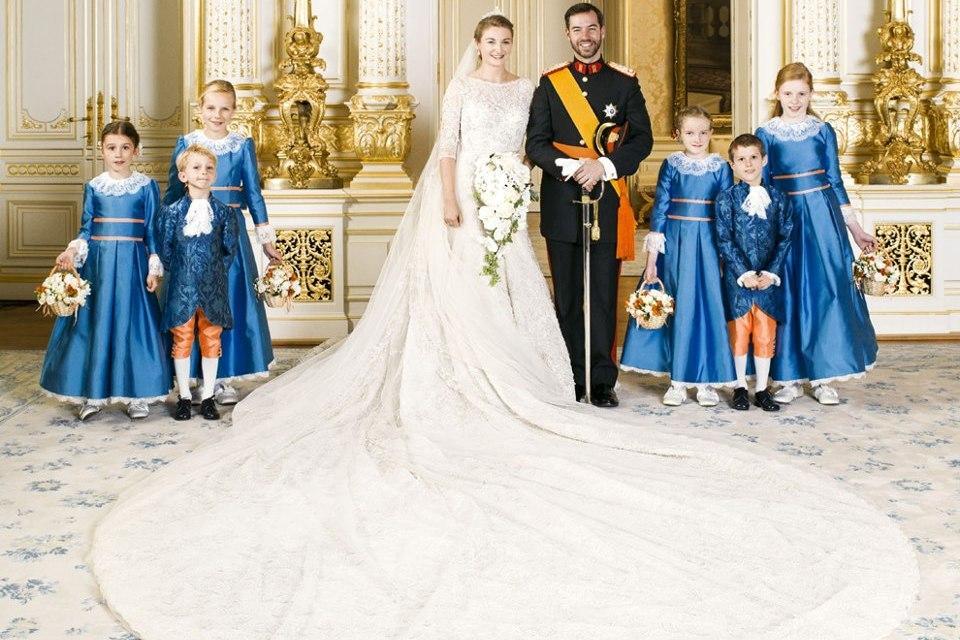 Robe de mariée libanaise pour Stéphanie de Lannoy