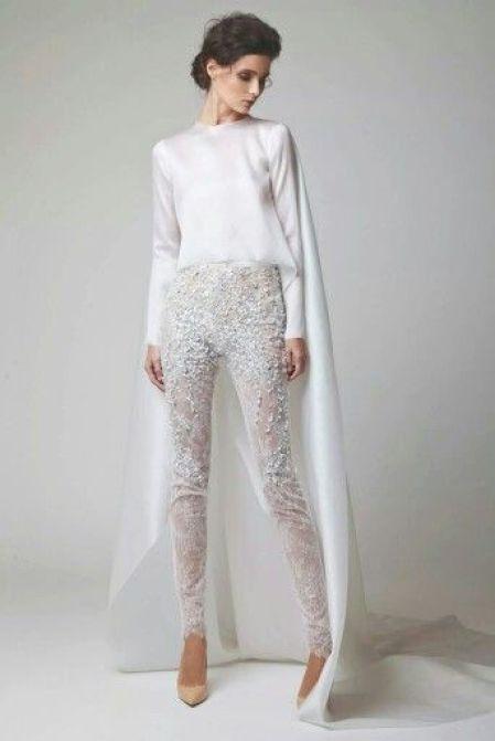 ensemble pantalon cape style oriental