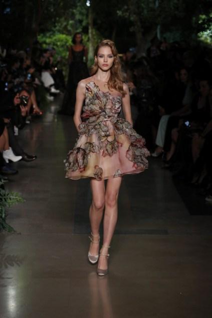 robe soirée Elie Saab pour femme petite