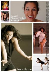 Sedcard Dancer-Choreographer-Actress