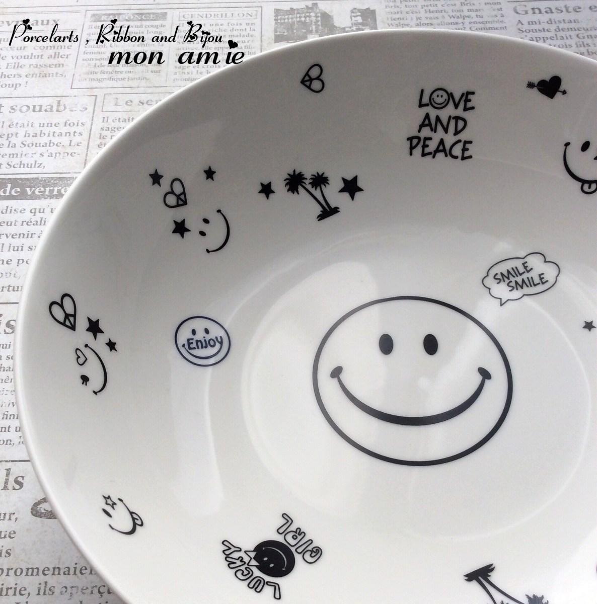 【生徒さま作品】スマイリーのカレー皿♡