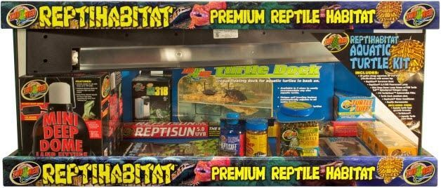 ZooMed ReptiHabitat Aquatic Turtle Kit 75lts