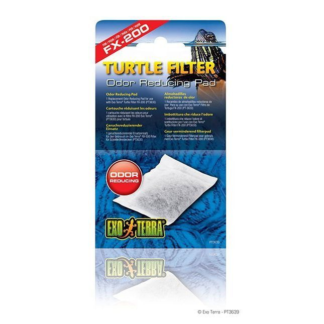 Exo Terra Turtle Filter Odor Reducing Pad