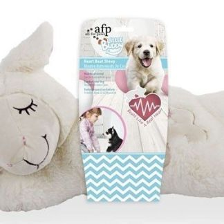 all for paws oveja de peluche con corazon litte buddy