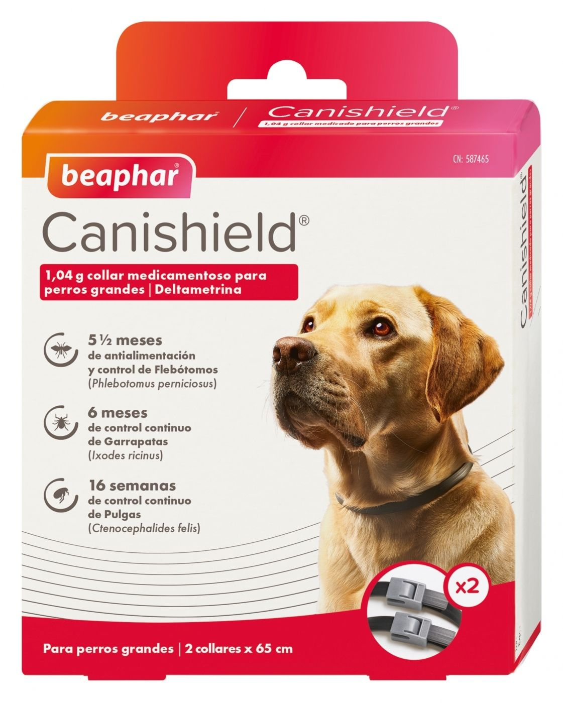 COLLAR CANISHIELD PERRO