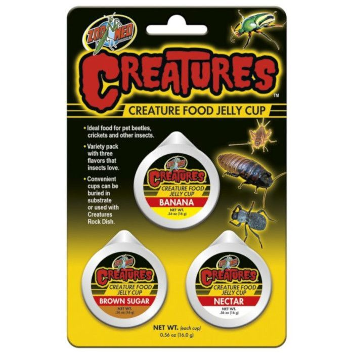 ZooMed Creatures Creature Food Jelly Cup