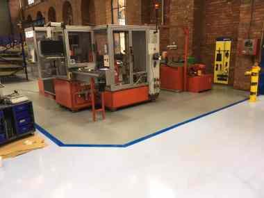 Gripple Sheffield - Monarch resin flooring