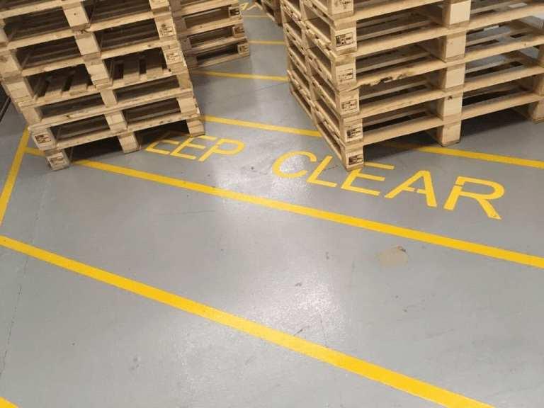 Line Marking - Monarch Resin Flooring