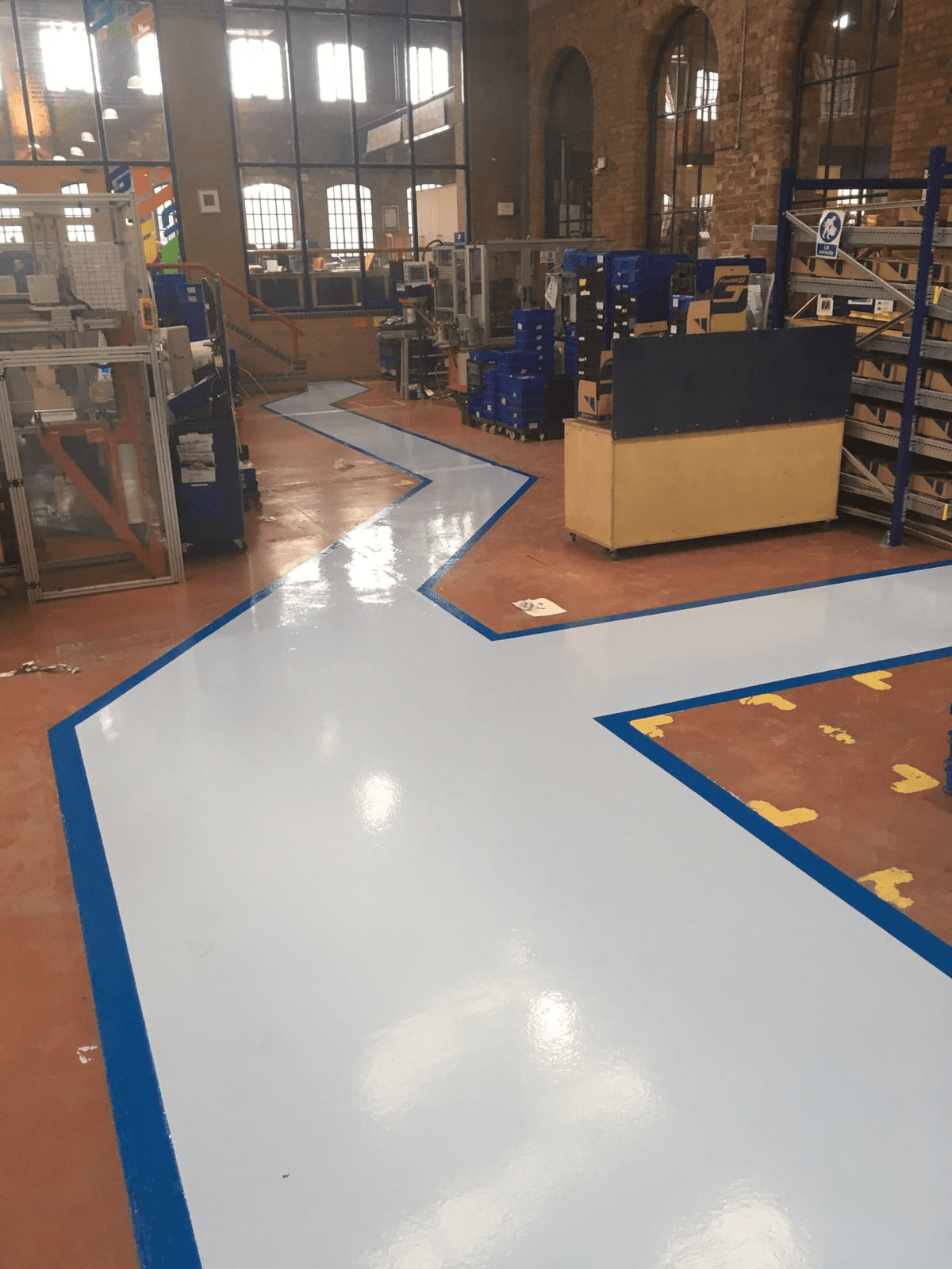 Factory Flooring - Monarch