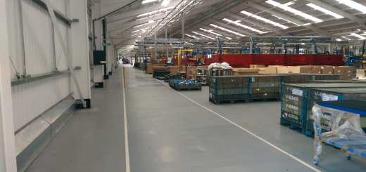 warehouse resin flooring