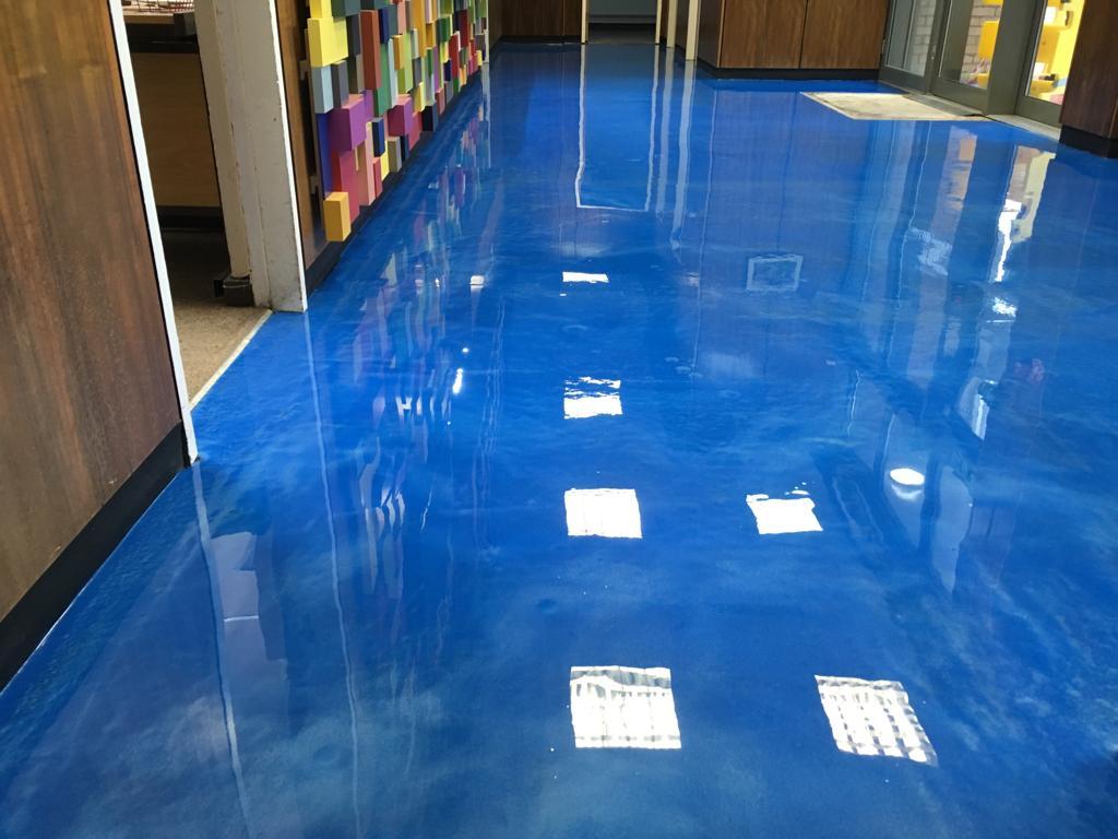 Decorative Commercial Flooring
