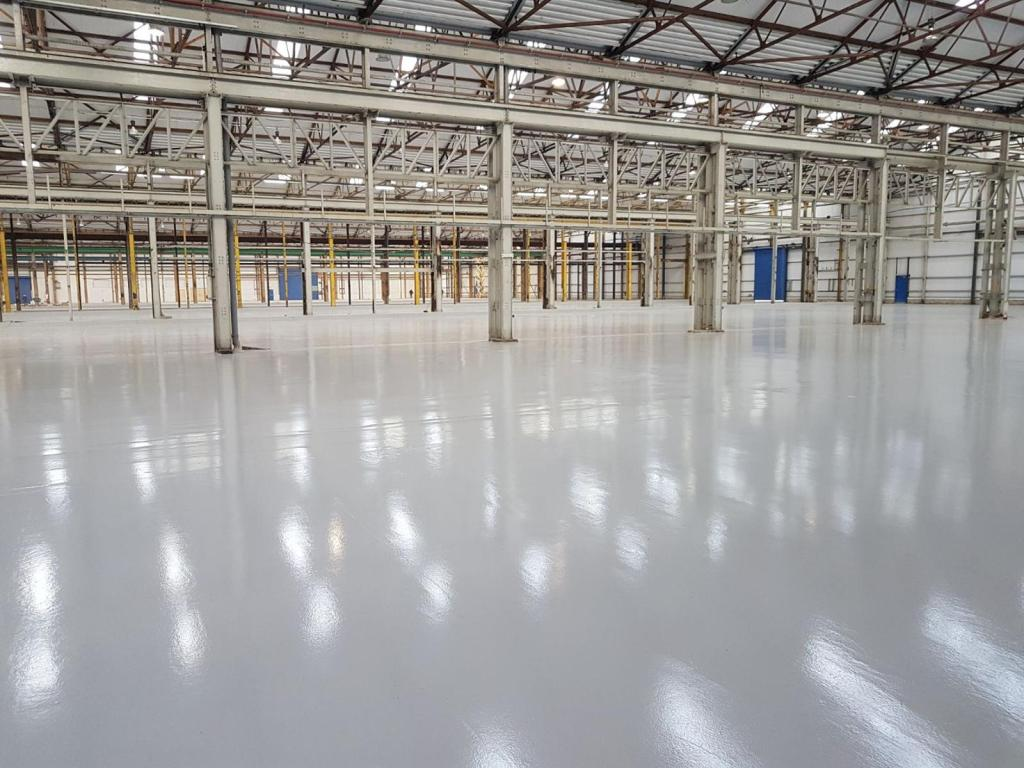 high build epoxy flooring