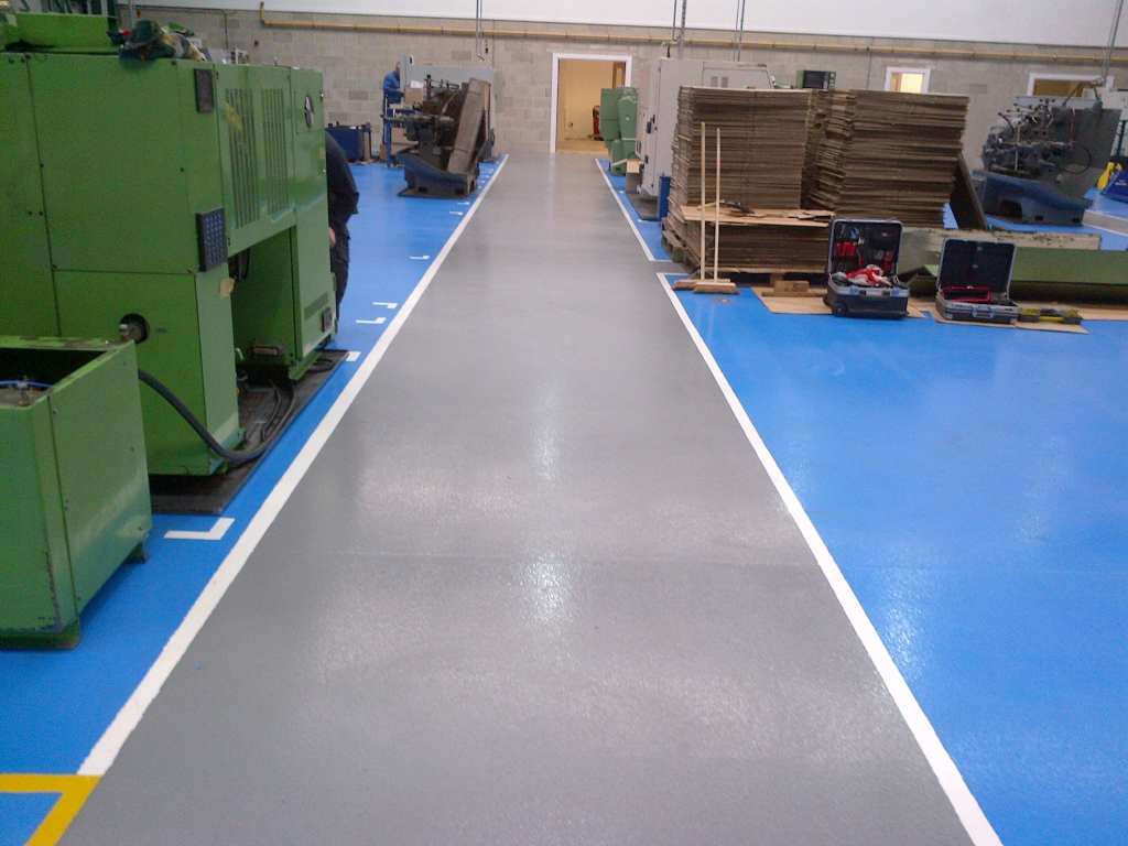 Demarcation and Resin Line Marking chesterfield manufacturing