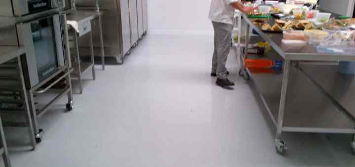 commercial kitchen flooring resin flooring