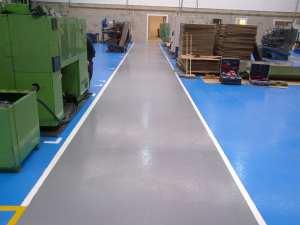 manufacturing flooring resin