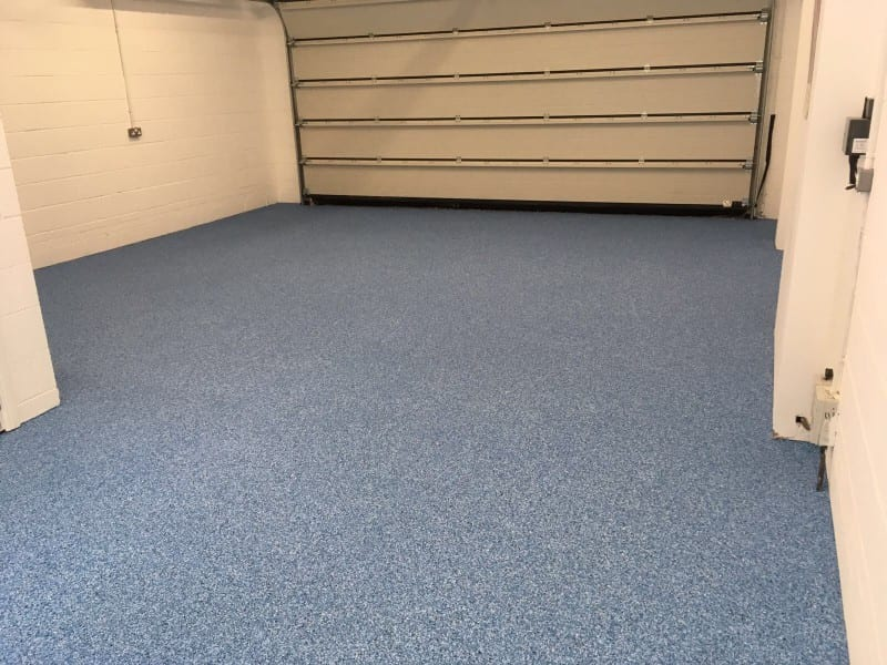 domestic garage resin flooring