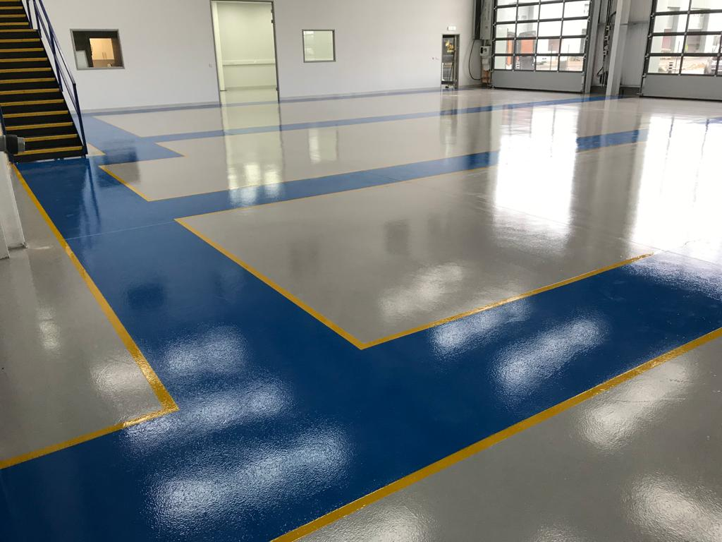 warehouse flooring manufacturing resin flooring