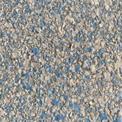 decorative resin flooring flake finish sky blend
